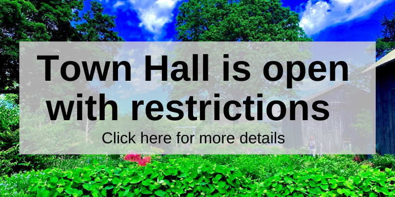 Town Hall Now Open